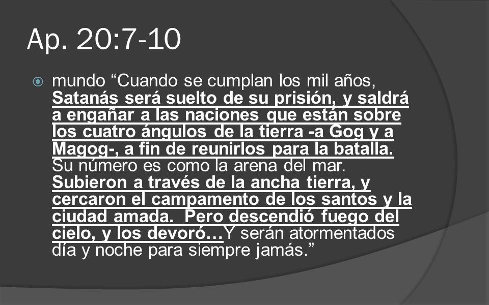 Ap. 20:7-10