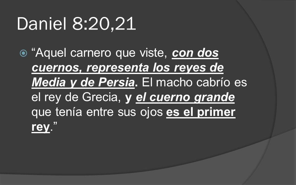 Daniel 8:20,21