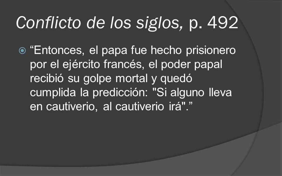 Conflicto de los siglos, p. 492