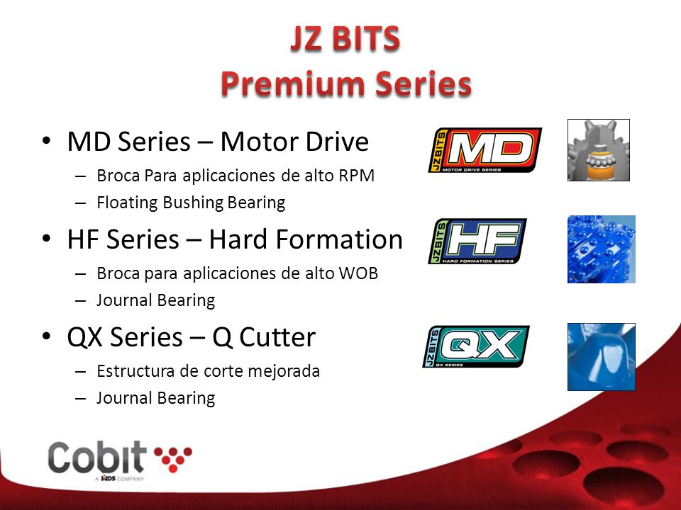 JZ BITS Premium Series MD Series – Motor Drive