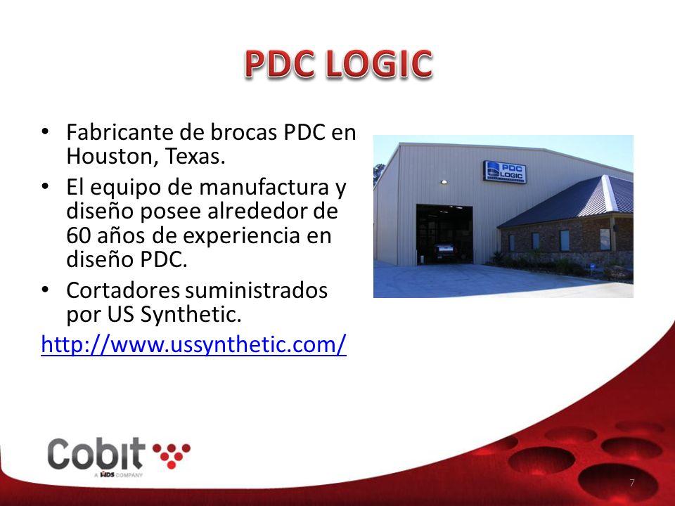 PDC LOGIC Fabricante de brocas PDC en Houston, Texas.
