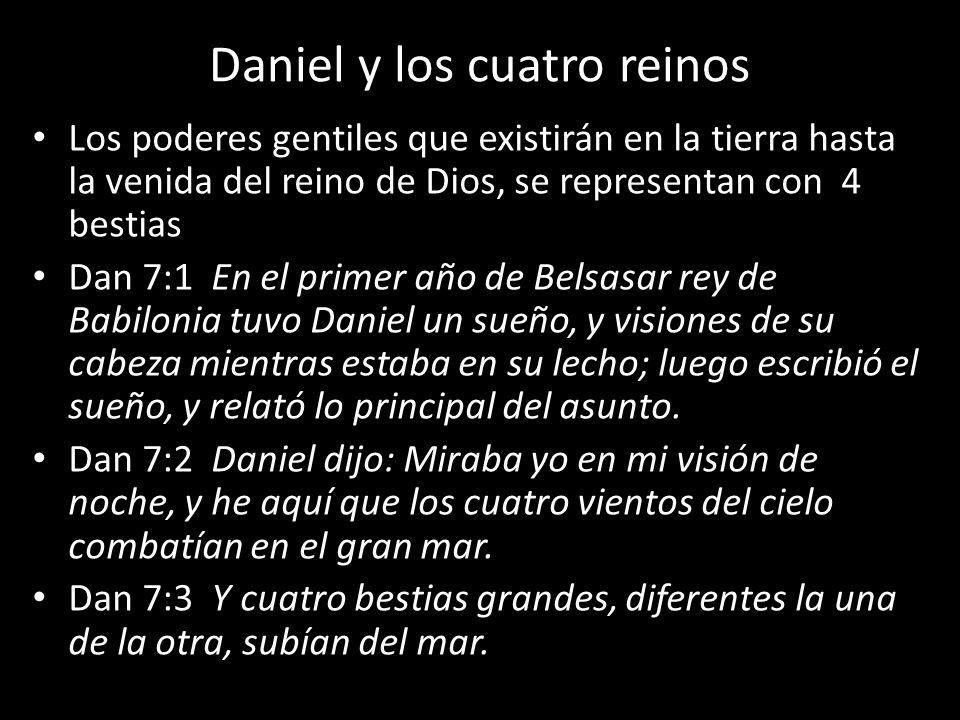Daniel y los cuatro reinos