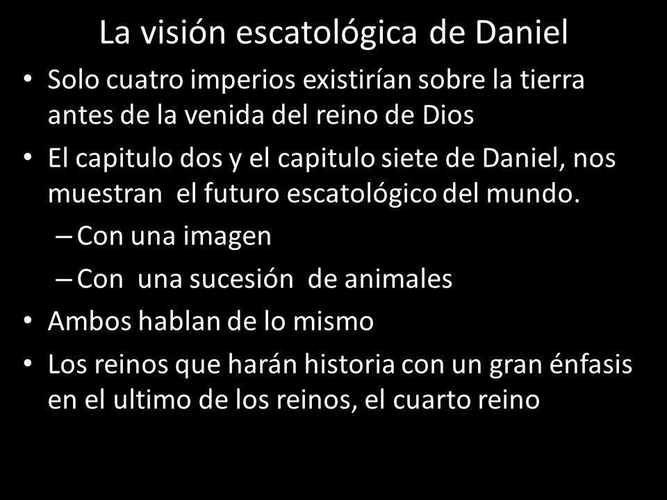 La visión escatológica de Daniel