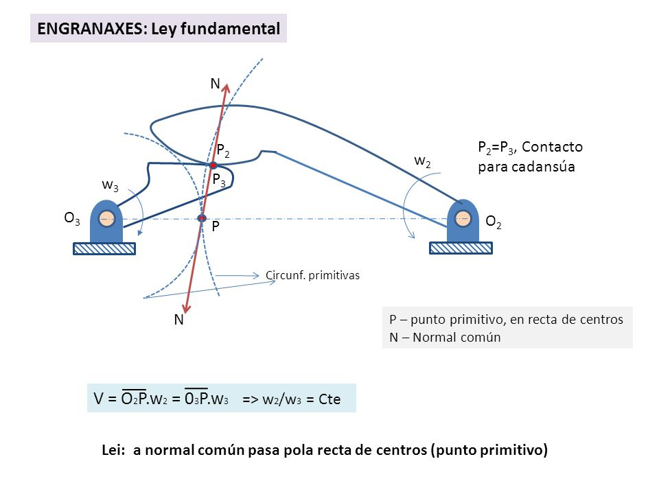 ENGRANAXES: Ley fundamental