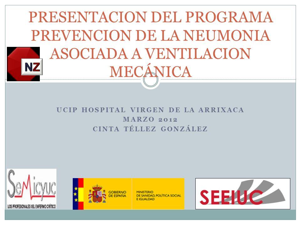UCIP Hospital Virgen de la Arrixaca Marzo 2012 Cinta Téllez González