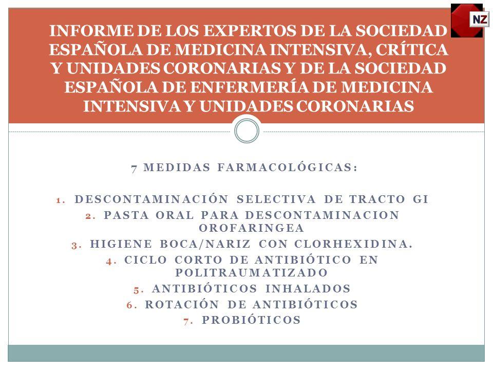 INFORME DE LOS EXPERTOS DE LA SOCIEDAD ESPAÑOLA DE MEDICINA INTENSIVA, CRÍTICA Y UNIDADES CORONARIAS Y DE LA SOCIEDAD ESPAÑOLA DE ENFERMERÍA DE MEDICINA INTENSIVA Y UNIDADES CORONARIAS