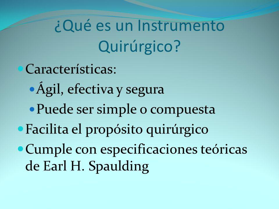 ¿Qué es un Instrumento Quirúrgico