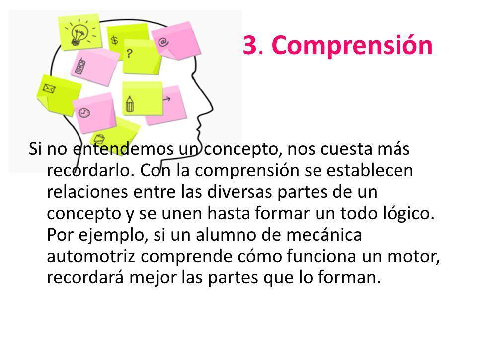 3. Comprensión