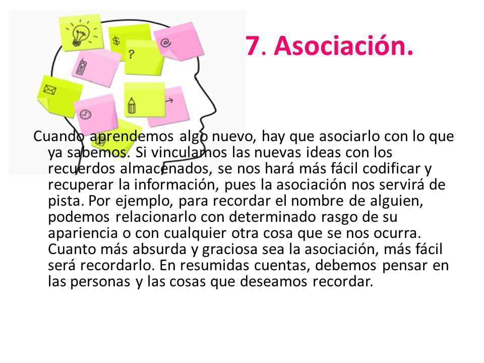 7. Asociación.