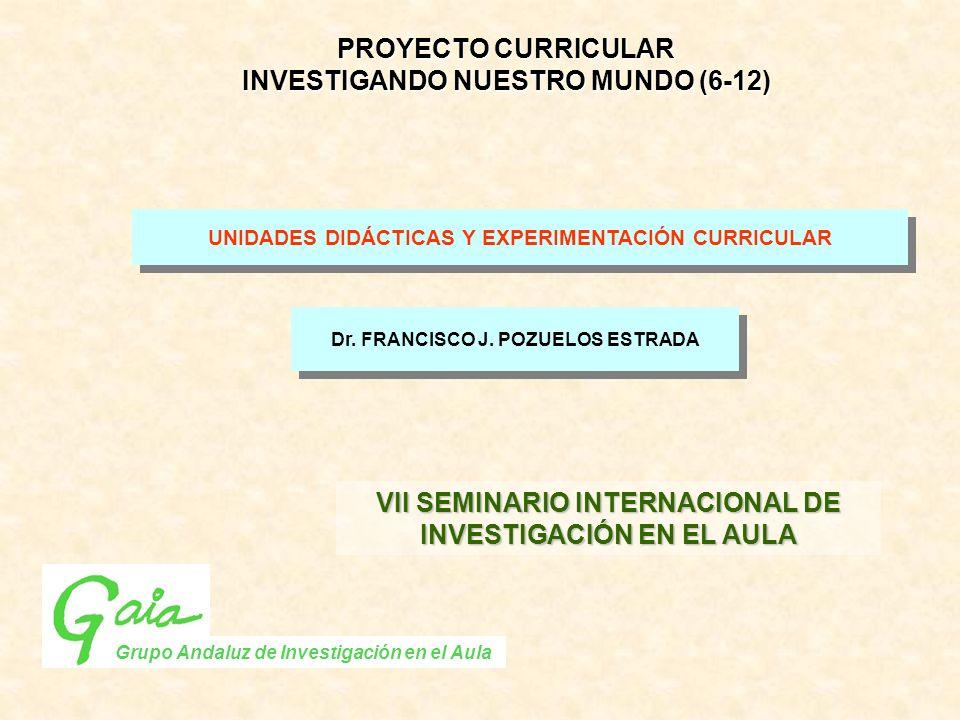 INVESTIGANDO NUESTRO MUNDO (6-12)