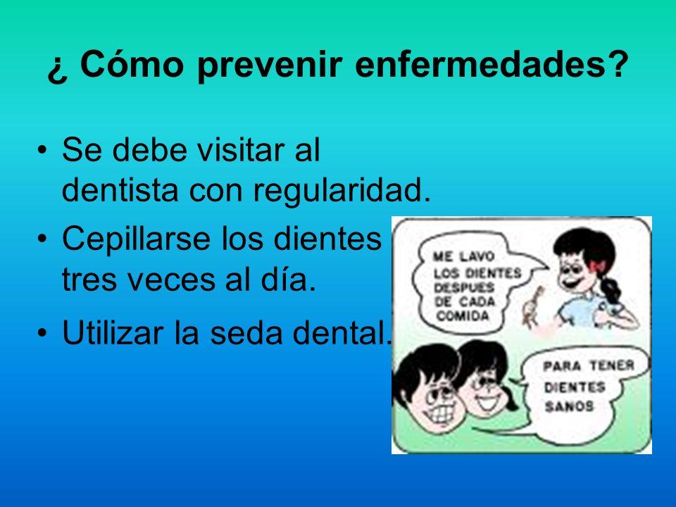 ¿ Cómo prevenir enfermedades