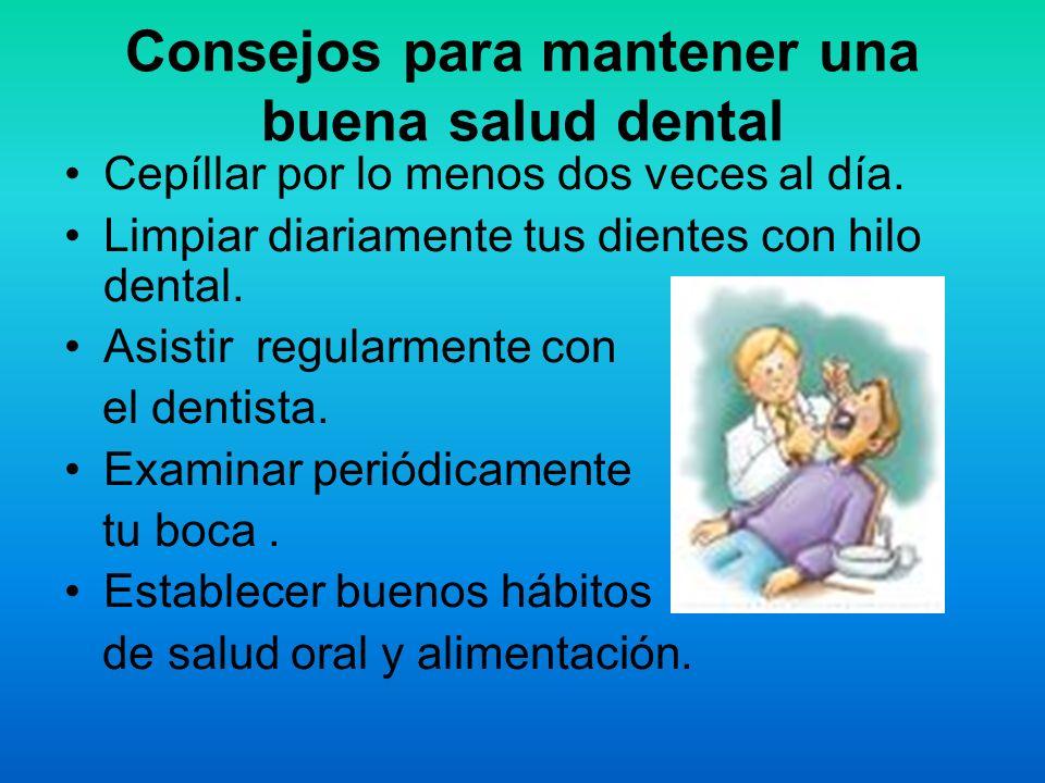 Consejos para mantener una buena salud dental