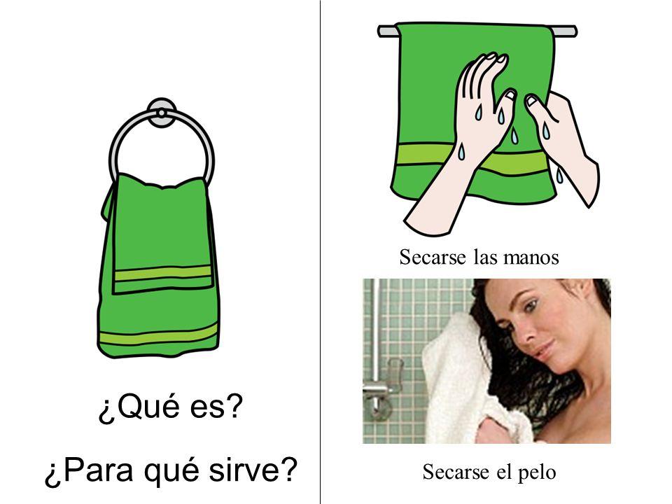 Secarse las manos ¿Qué es ¿Para qué sirve Secarse el pelo