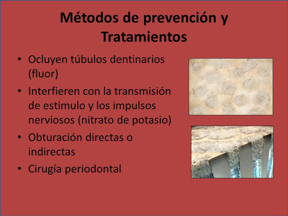 Métodos de prevención y Tratamientos