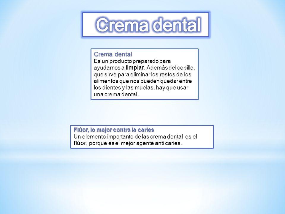 Crema dental Crema dental