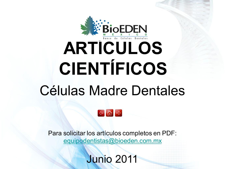 Células Madre Dentales