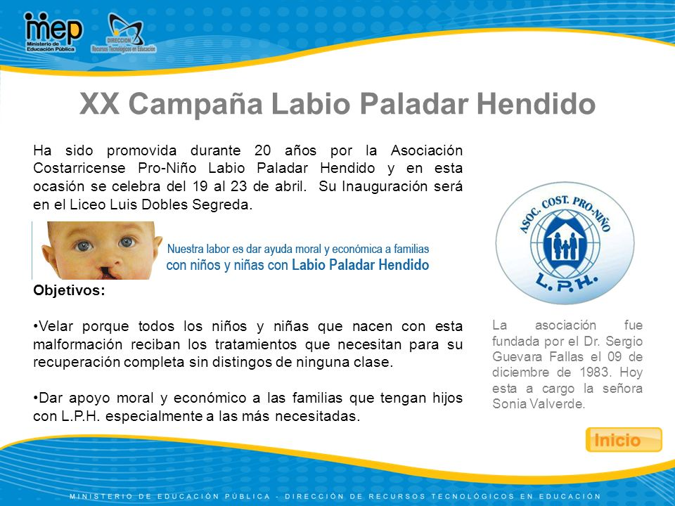 XX Campaña Labio Paladar Hendido