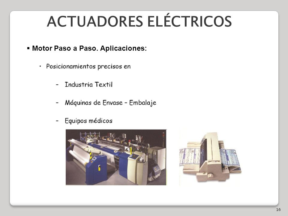 ACTUADORES ELÉCTRICOS