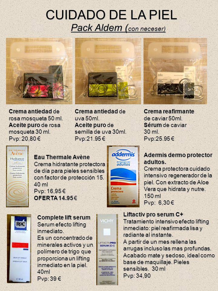 CUIDADO DE LA PIEL Pack Aldem (con neceser)
