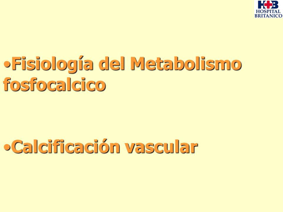 Fisiología del Metabolismo fosfocalcico