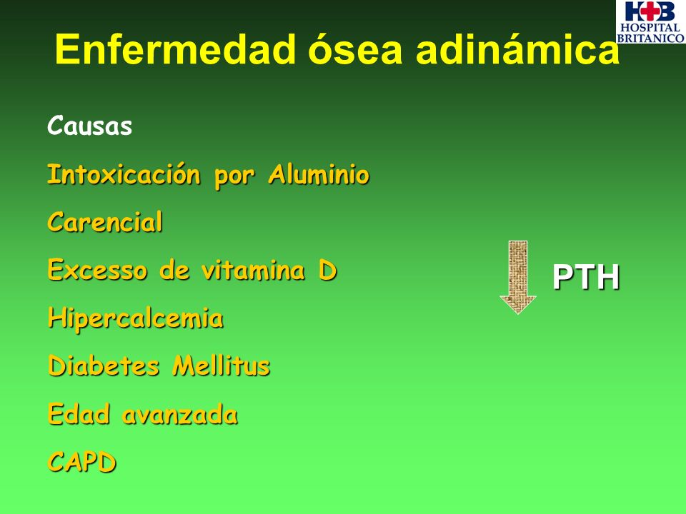Enfermedad ósea adinámica