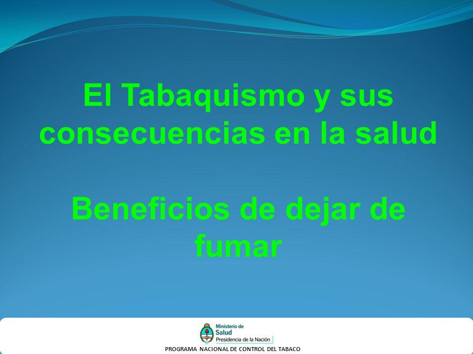 El Tabaquismo y sus consecuencias en la salud