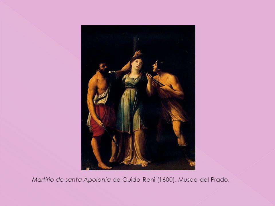 Martirio de santa Apolonia de Guido Reni (1600). Museo del Prado.