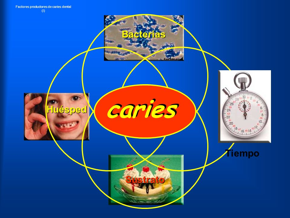 Factores productores de caries dental (I)