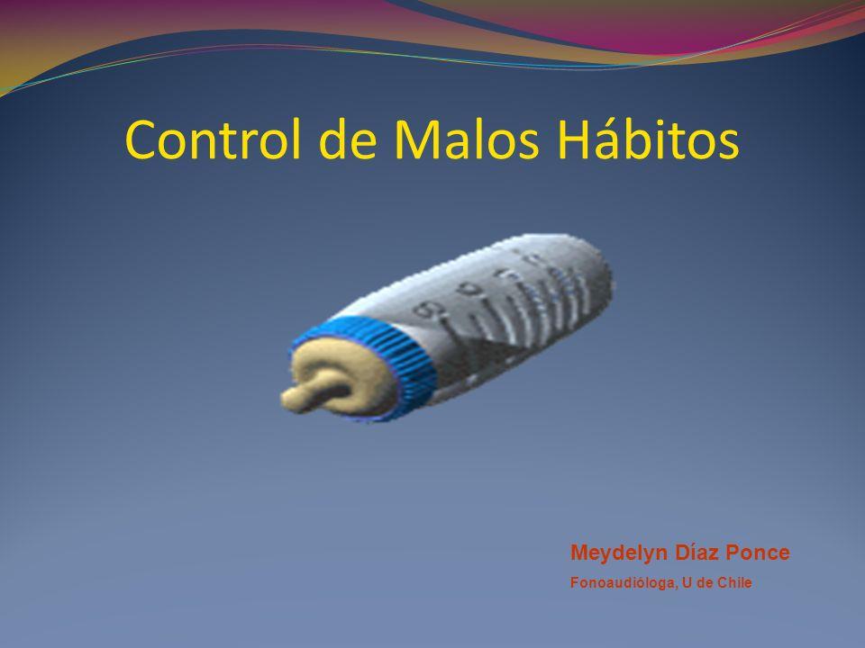Control de Malos Hábitos
