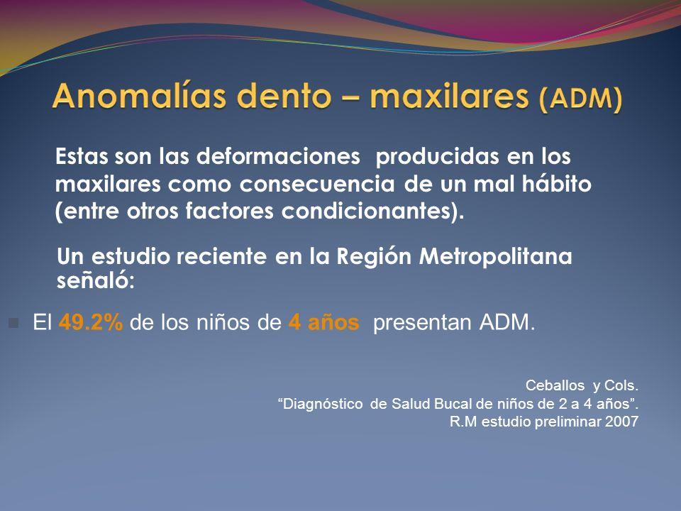 Un estudio reciente en la Región Metropolitana señaló: