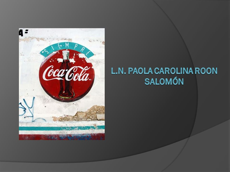 l.n. Paola carolina Roon salomón