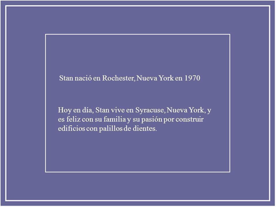 Stan nació en Rochester, Nueva York en 1970