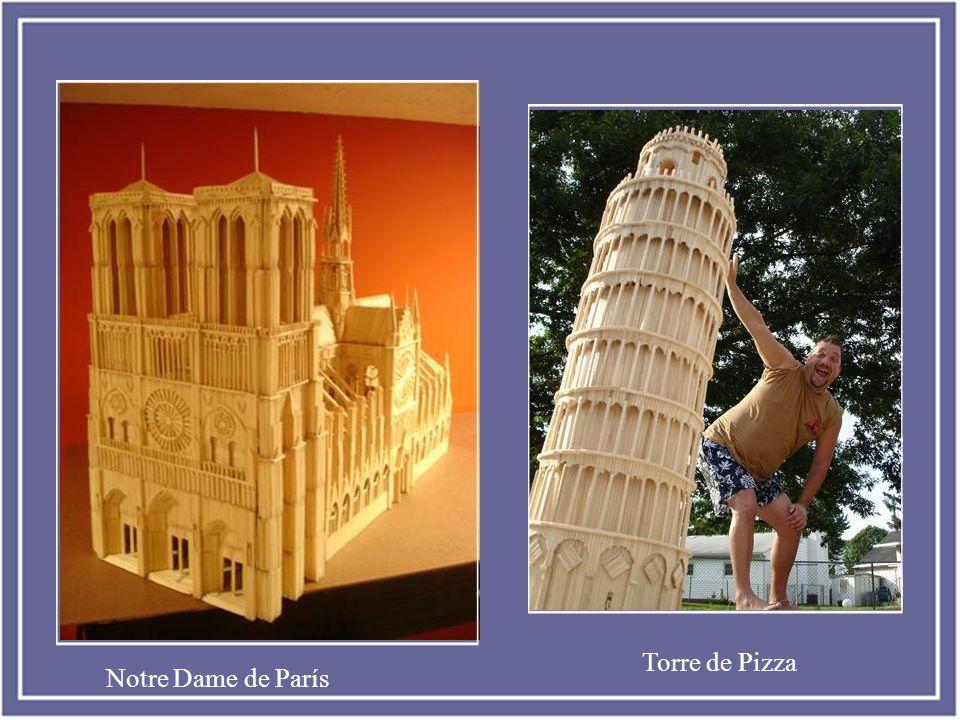 Torre de Pizza Notre Dame de París