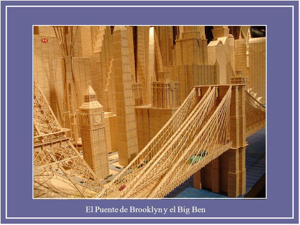 El Puente de Brooklyn y el Big Ben