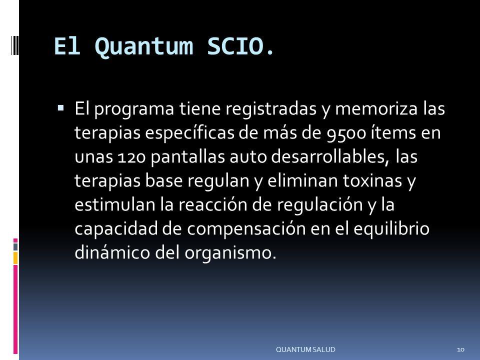 El Quantum SCIO.