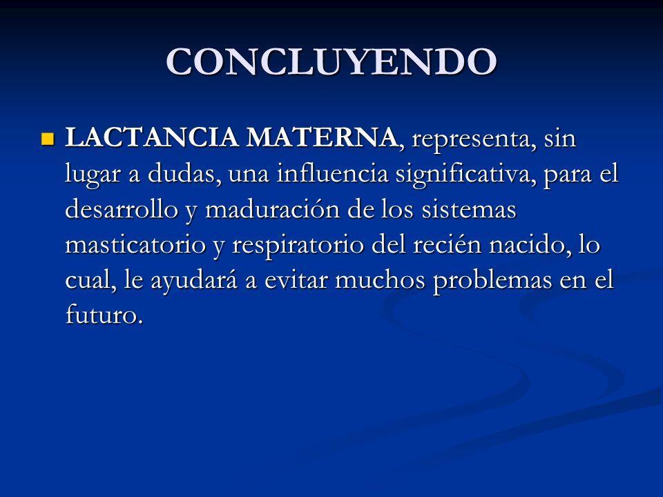 CONCLUYENDO