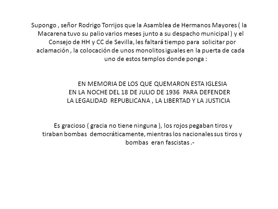 Consejo de HH y CC de Sevilla, les faltará tiempo para solicitar por