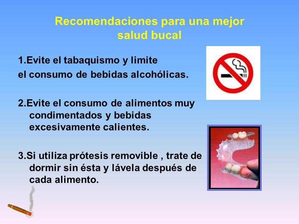 Recomendaciones para una mejor salud bucal