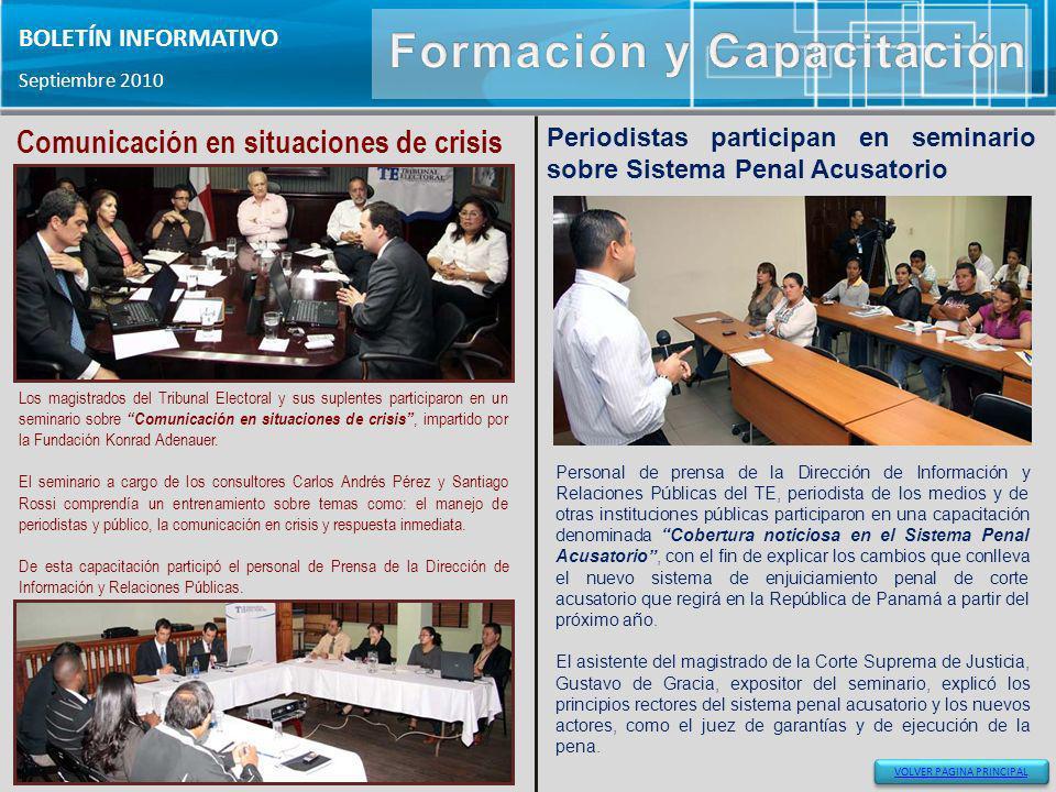 Formación y Capacitación Comunicación en situaciones de crisis
