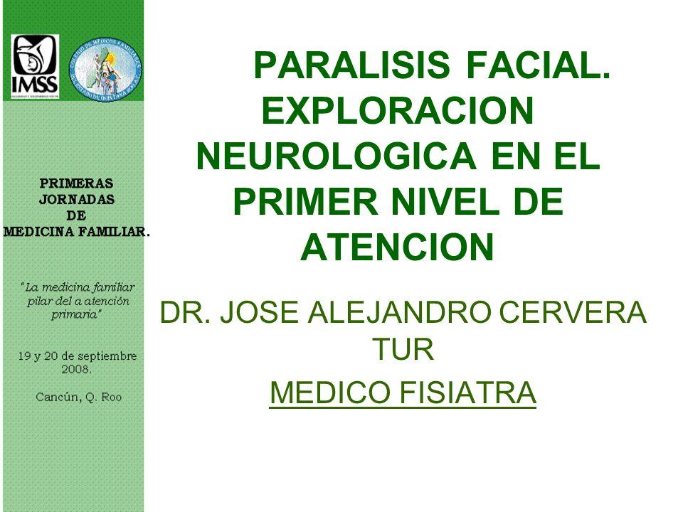 DR. JOSE ALEJANDRO CERVERA TUR MEDICO FISIATRA