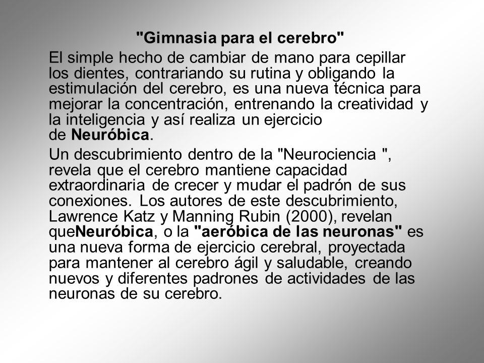Gimnasia para el cerebro