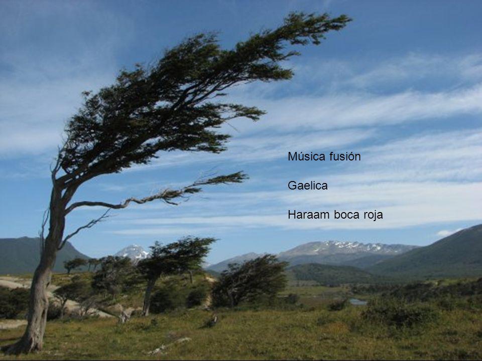 Música fusión Gaelica Haraam boca roja