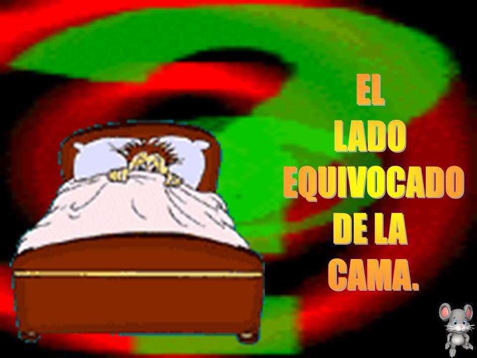 EL LADO EQUIVOCADO DE LA CAMA. 1
