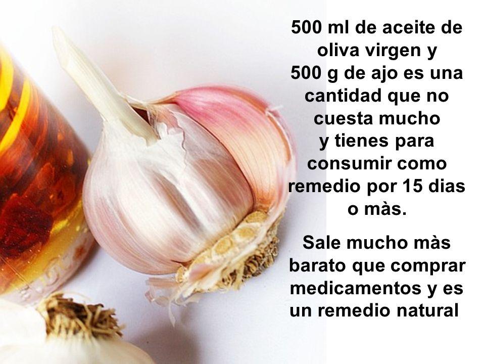 Sale mucho màs barato que comprar medicamentos y es un remedio natural