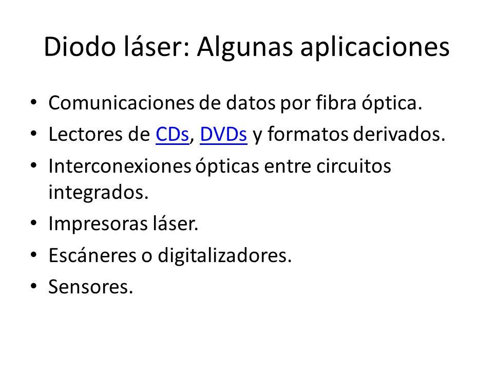 Diodo láser: Algunas aplicaciones