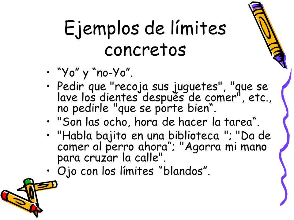 Ejemplos de límites concretos