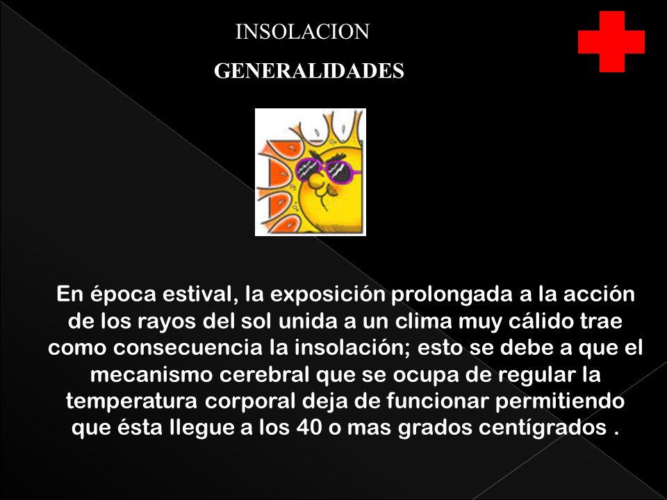 INSOLACION GENERALIDADES.