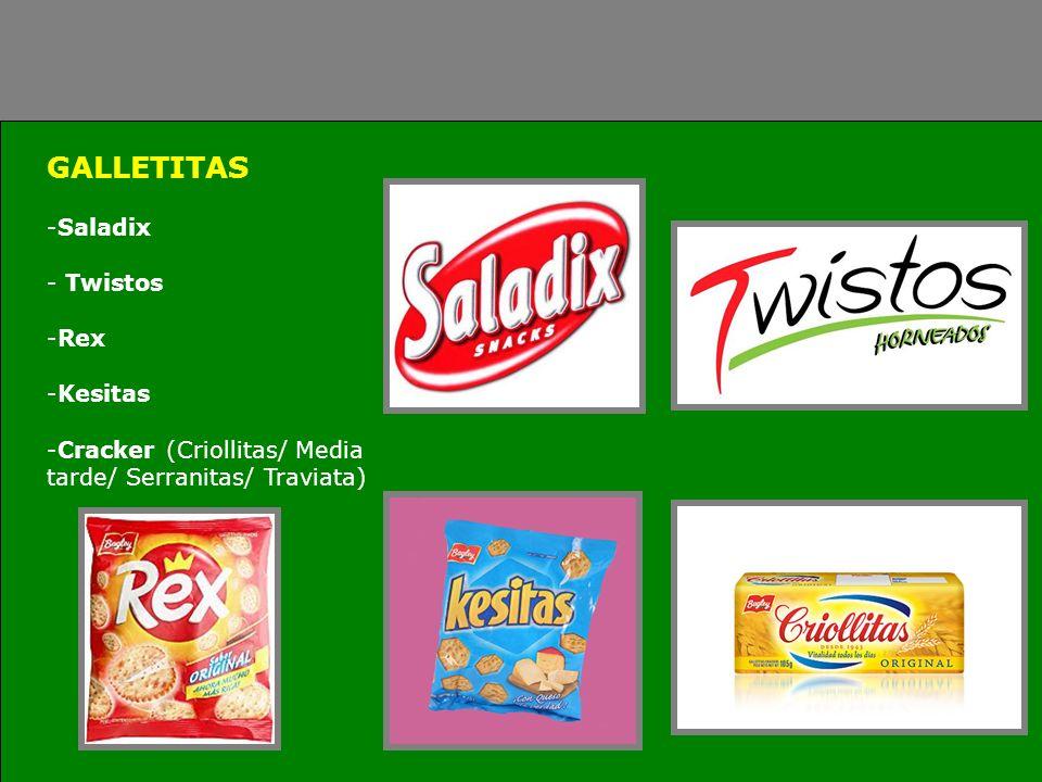 GALLETITAS Saladix Twistos Rex Kesitas