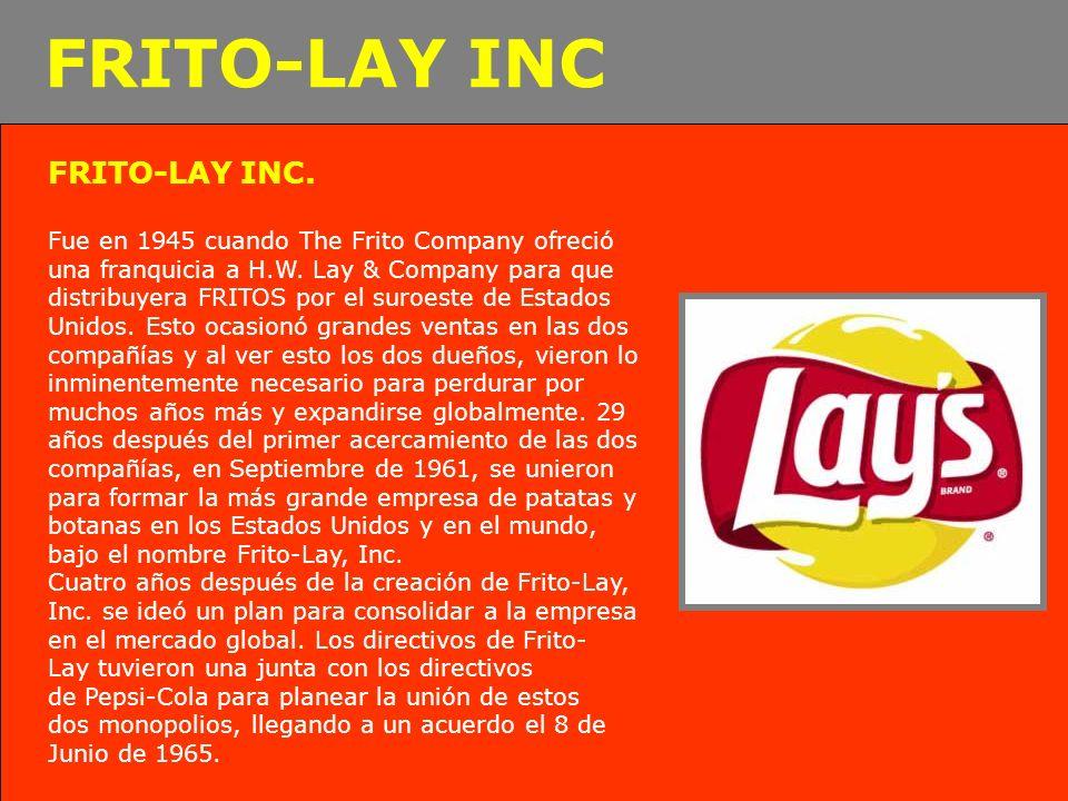 FRITO-LAY INC FRITO-LAY INC.