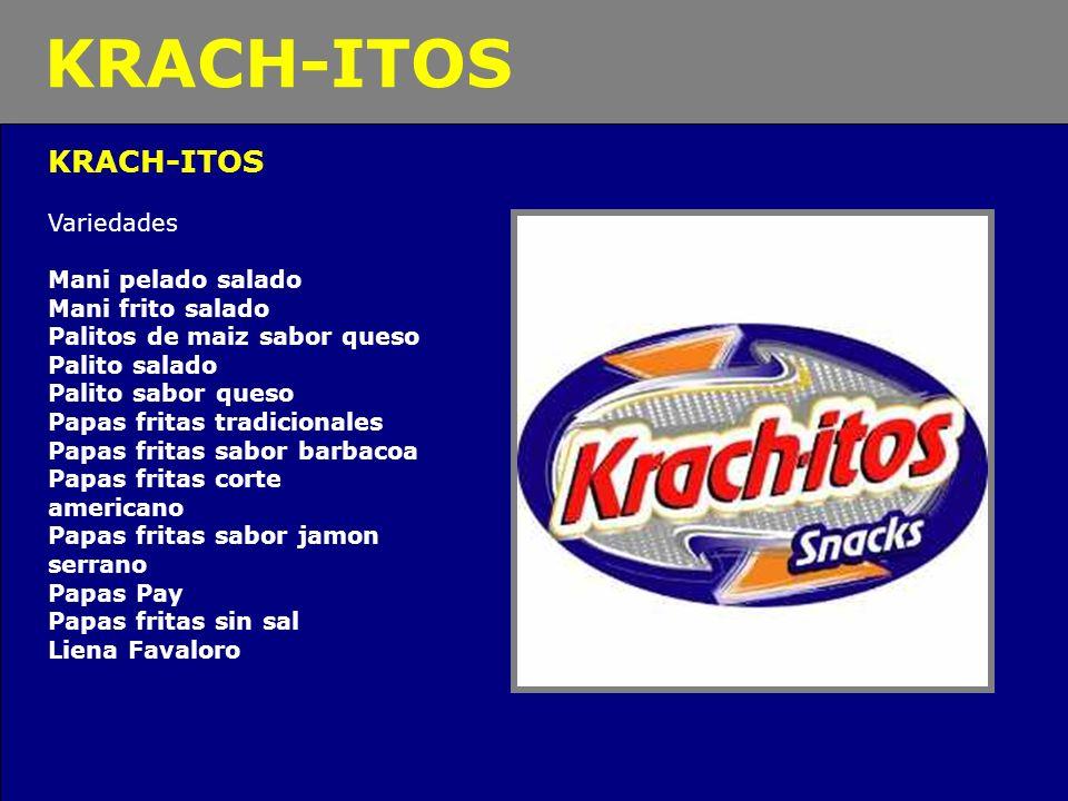 KRACH-ITOS KRACH-ITOS Variedades Mani pelado salado Mani frito salado